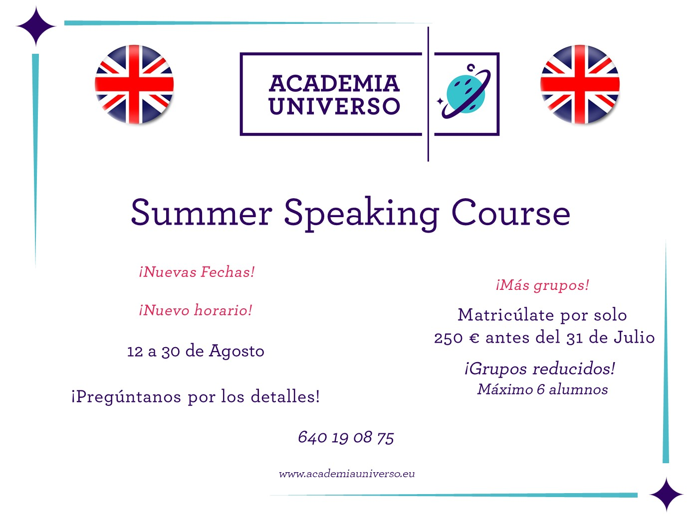 Summer Speaking Course